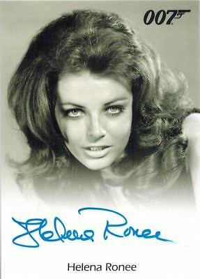 ~James BOND Archives 2017: Autograph / Auto of Helena Ronee as The Israeli Girl