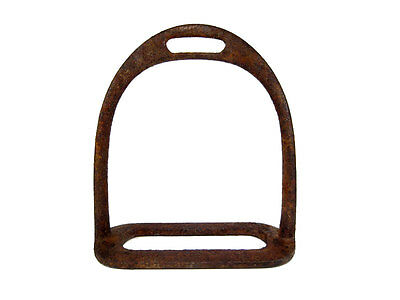 Choice Post Medieval Military Cavalry Iron Stirrup, Top Condition!!!
