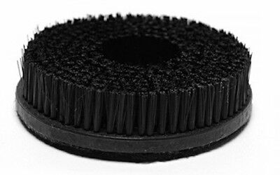 "5"" Hook And Loop Backing Carpet And Upholstery Spin Brush 7/8"" Bristle Length"