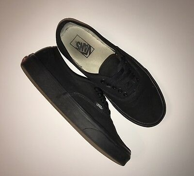 8b8faad578539 Vans Authentic Lo Pro Black Canvas Skate Shoe Men's Size 9 Womens Size 10.5  Used