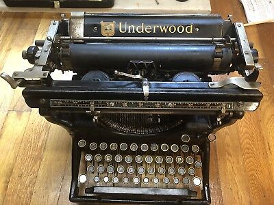 Rare 1911 Underwood Typewriter