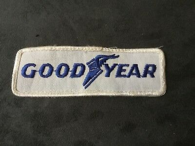 vintage sew on uniform patch- Goodyear Tire Company