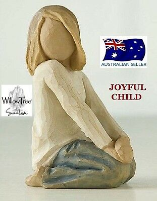 JOYFUL CHILD Demdaco Willow Tree Figurine By Susan Lordi BRAND NEW IN BOX