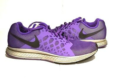 hot sale online 58093 222a5 wholesale women nike zoom pegasus 31 flash 683677 005 size 10 silver black  hyper grape c88cc