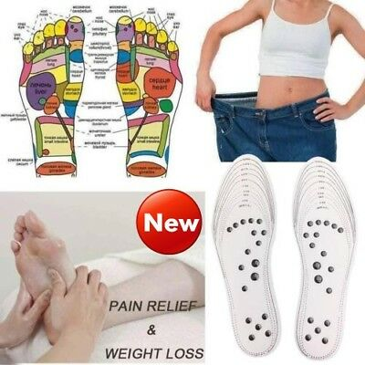 Acupressure Magnetic Massage Foot Therapy Reflexology Pain Relief HQ #LD