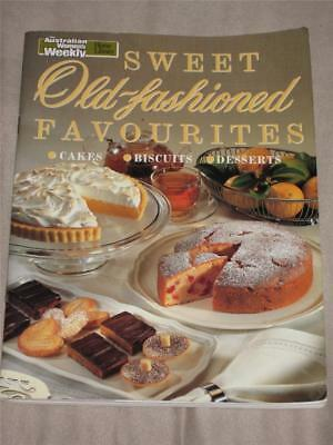 Aust Womens Weekly Cook Book Sweet Old Fashioned Favourites Recipes Chef