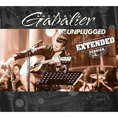 GABALIER ANDREAS - MTV Unplugged, 3 Audio-CDs (Extended Version)