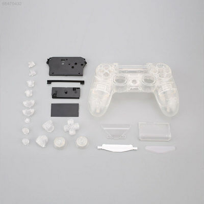 D6ED B75B Full Housing Cover Shell Button Key Kit Replacement For PS4 Controller