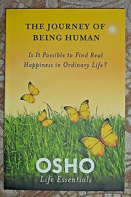 OSHO  Life Essentials The Journey Of Being Human.. Real happiness NEW spiritual