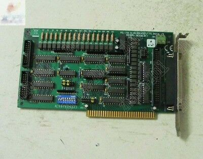 1pc used  Advantech PCL-730 32 CHISOLATED/ TTL DIGITAL I/O ISA Card