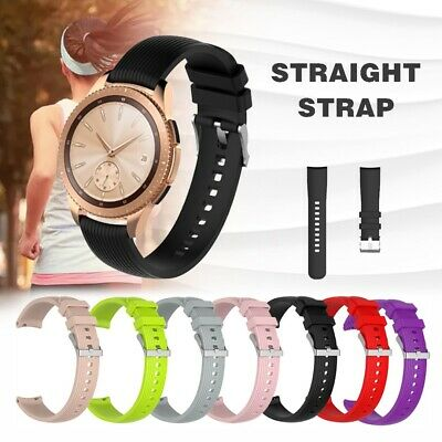 20mm Silicone Wrist Band Strap Bracelet Replace for Samsung Galaxy Watch 42mm