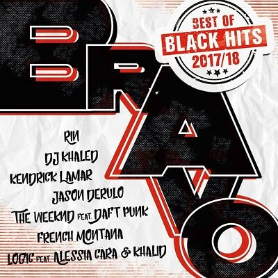 BRAVO Black Hits - Best Of 2017/18, 2 Audio-CDs