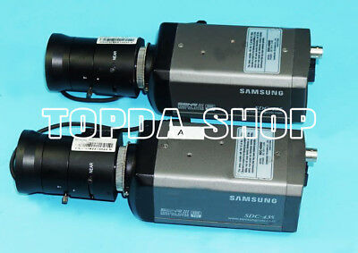 1PC Samsung SDC-435 Color surveillance camera with original lens#SS