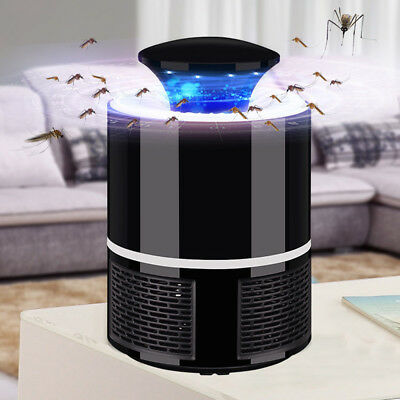 USB Photocatalyst Mosquito Bug Insect UV Light Killing Trap Lamp Fly Repeller AU