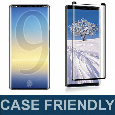 Case Friendly Tempered Glass Screen Protector For Samsung Galaxy NOTE 8 9 S8 S9