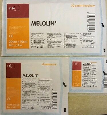 Melolin dressings, please  pick size and quantity