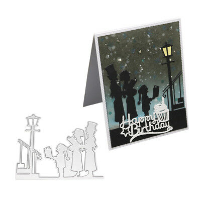 Family Recitation Metal Cutting Die Embossing Scrapbook Paper Cards Stencil Note