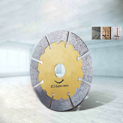 114/125/156mm Diamond Cutting Disc Saw Blade For Marble Stone Wall Ceramic Tile