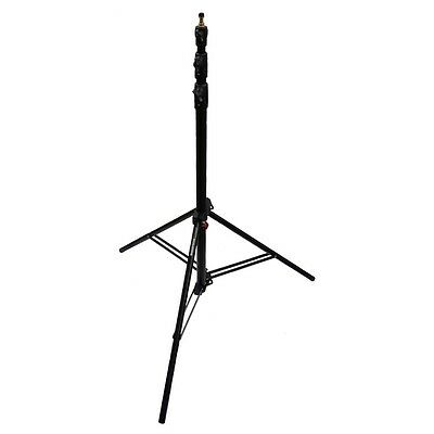 Manfrotto 1005BAC Trípode Ranker Stand Negro Max. 2,73m Trípode Stand Trépied