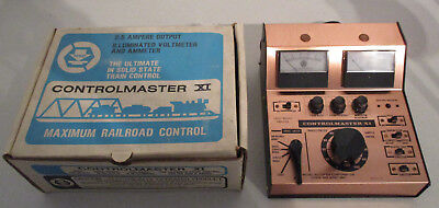 MRC Controlmaster XI Solid State HO Transformer with Dual Gauges unbenutzt + OVP