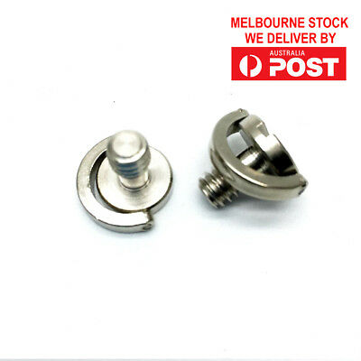 """1/4"""" Screw with D Ring for Camera Tripod / Monopod / Quick Release Plate"""