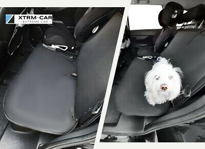 SEAT ARONA JUNIORDuo Rücksitz Doppel-Schutzmatte Hundetransport JUNIOR DUO