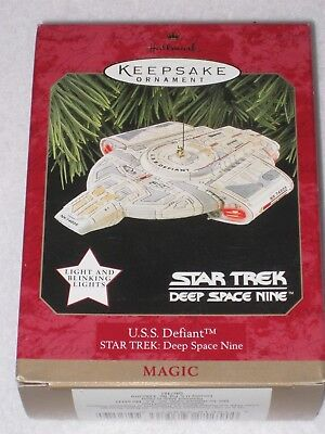 U.s.s. Defiant Star Trek: Deep Space Nine Hallmark Keepsake Ornament 1997