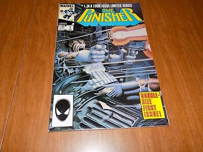 The Punisher #1 (1985) Mike Zeck! - Double Sized 1st Issue - ICONIC PUNISHER CVR