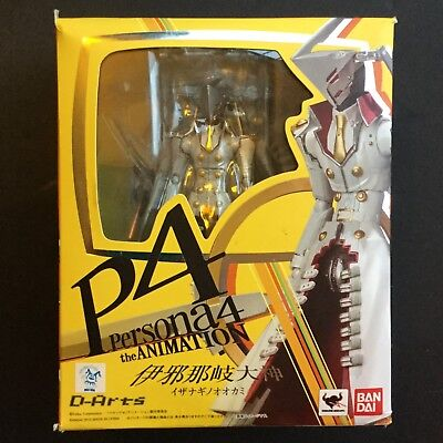 Bandai Tamashii Nations D-Arts Persona 4 P4 Izanagi no Okami Action Figure