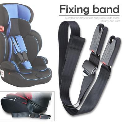 Children Safety Seat Belt & Padding With Isofix Connector Soft Connecting Band