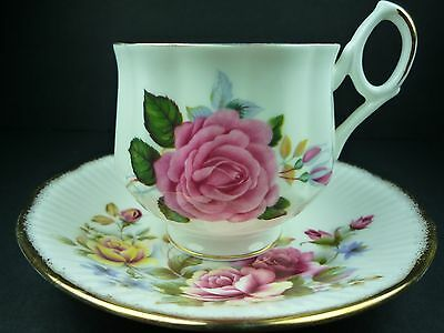 Royal Dover China Cup & Queens Fine Bone China Saucer Set