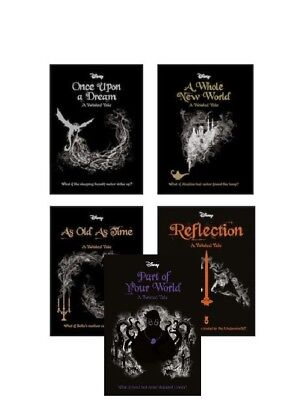 Disney Twisted Tales Pack Collection x 5 by Liz Braswell