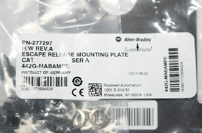 Lot of 15 - Allen Bradley 277297 Escape Release Mounting Plates 442G-MABAMPE