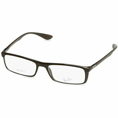 6ced8ce647 Ray-Ban Liteforce Rx Eyeglasses Brown w Demo Lens Unisex RX7035 5434 54