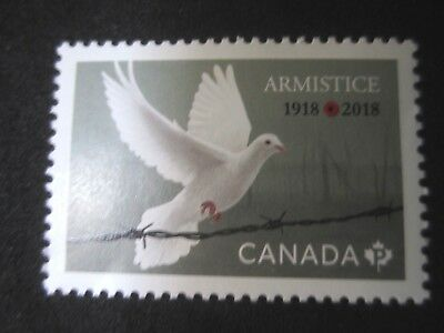 Canada 2018 Armistice 1918-2018  1  stamps From Souvenir sheet