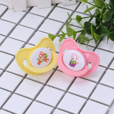 Baby Pacifier Round Head Newborn Soother Nipple Teether Dummy Silicone Safe Toy