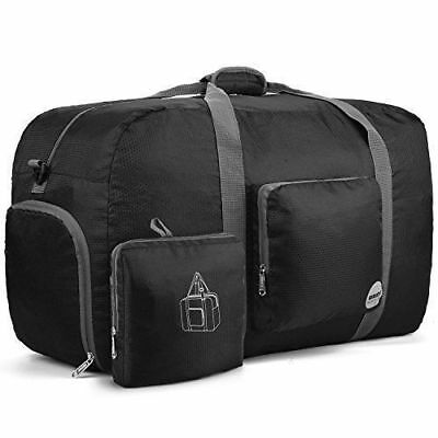 Water Resistant 85L Foldable Travel Sports Gym Duffel Bag Luggage Lightweight
