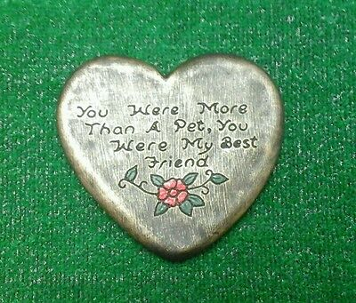 Best friend Pet Memorial/headstone/stone/grave marker/memorial best friend 1