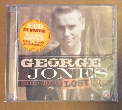 The Great Lost Hits by George Jones (CD, Feb-2010, 2 Discs, Time-Life Music)