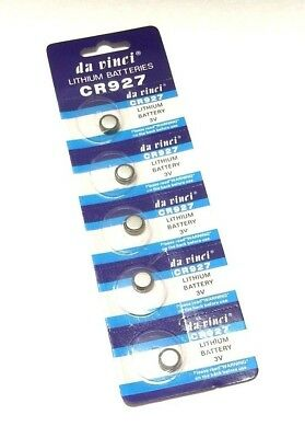 25 x CR927 BATTERY LITHIUM 3v BUTTON COIN CELL BATTERIES Expiry 12/2021