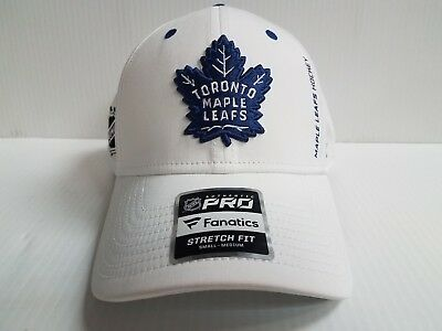Toronto Maple Leafs Cap NHL Authentic Pro Rinkside Speed Stretch Fit Fitted  Hat 4e2e2c5f7304