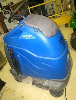 Windsor Chariot iVac 24 ATV multi-surface cleaning HEPA stand-on vacuum