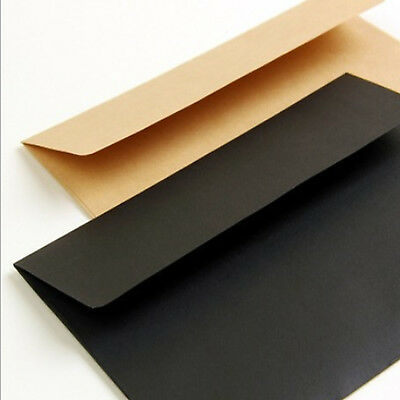 100 X C6 Recycled Brown Kraft Envelopes for Wedding Cards