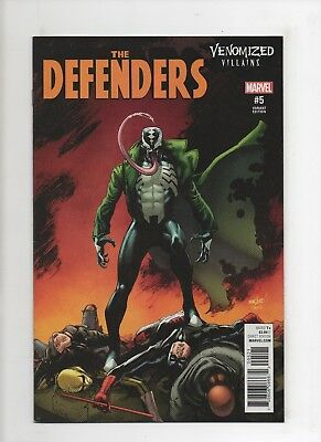 The Defenders #5 (2017, Marvel) Venomized Villains Variant