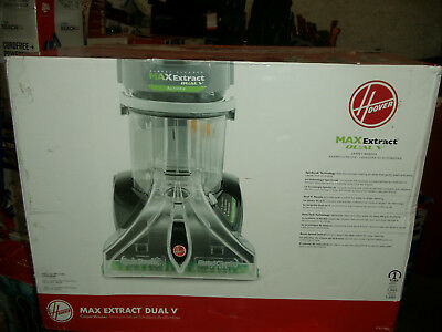 Hoover Max Extract Dual V WidePath Carpet Washer/Shampooer Cleaner F7412900
