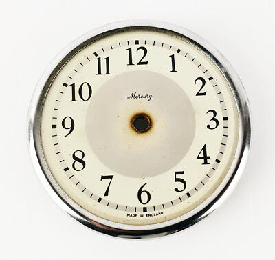 Vintage Mercury Round Clock Face Dial part for clock making