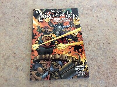 Lobo/judge Dredd Psycho-Bikers Vs Mutants From Hell Comic Nm 1995 Dc
