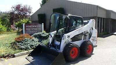 2016 BOBCAT S590 Skid Steer Erops Heat/Air 4337 Hrs 66Hp Diesel Hyd