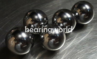 """1"""" Ball Paracord Monkey Fist Steel Tactical Cores Balls  Chrome Steel   1 inch"""