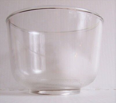 Vintage Oster Regency Kitchen Center Small Glass Mixing Bowl Replacement Part